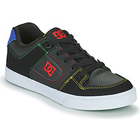 Shoes Boy Skate shoes DC Shoes PURE B SHOE KMI Black / Red