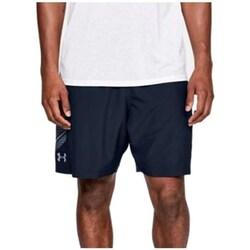 Clothing Men Shorts / Bermudas Under Armour Woven Graphic Shorts Navy blue