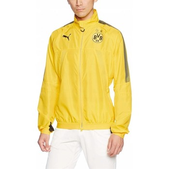 Clothing Men Track tops Puma Borusia Dortmund Yellow