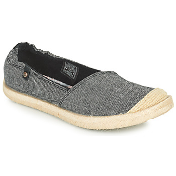 Shoes Women Espadrilles Roxy CORDOBA Grey / Dark