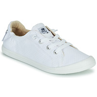 Shoes Women Low top trainers Roxy BAYSHORE III White