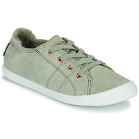 Shoes Women Low top trainers Roxy BAYSHORE III Cream