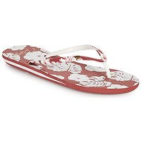 Shoes Women Flip flops Roxy PORTOFINO III Coppery