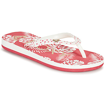 Shoes Girl Flip flops Roxy PEBBLES VII G Pink