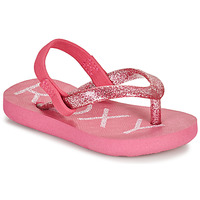 Shoes Girl Flip flops Roxy TW VIVA SPARKLE Pink