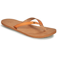 Shoes Women Flip flops Roxy JYLL III Camel