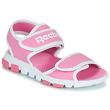 Shoes Children Outdoor sandals Reebok Sport WAVE GLIDER III Pink