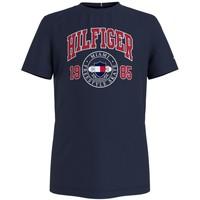 Clothing Boy Short-sleeved t-shirts Tommy Hilfiger CRISA Marine