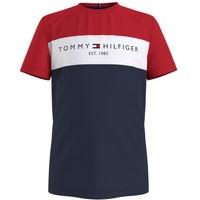 Clothing Boy Short-sleeved t-shirts Tommy Hilfiger KB0KB06534-C87 Multicolour