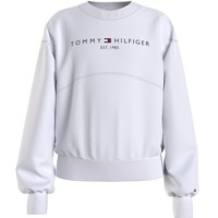 Clothing Girl Sweaters Tommy Hilfiger THUBOR White