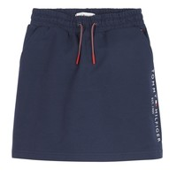 Clothing Girl Skirts Tommy Hilfiger JOPAS Marine