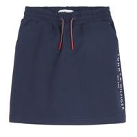 Clothing Girl Skirts Tommy Hilfiger JOPAS Marine