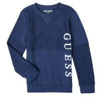 Clothing Boy Sweaters Guess N1RQ06-KA6R0-DEKB Marine