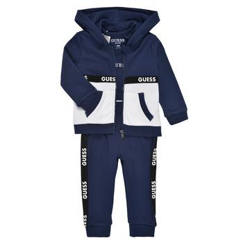 Clothing Boy Sets & Outfits Guess P1RG00-KA6W0-DEKB Marine