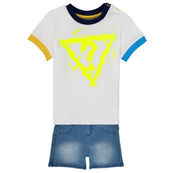 Clothing Boy Sets & Outfits Guess I1GG22-K8HM0-TWHT Multicolour