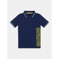 Clothing Boy Short-sleeved polo shirts Guess L1GP00-KADZ0-DEKB Marine