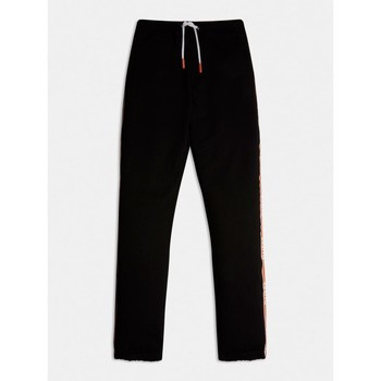 Clothing Boy Tracksuit bottoms Guess L1RQ03-KA6R0-JBLK Black
