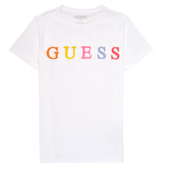 Clothing Girl Short-sleeved t-shirts Guess H1RJ04-K8HM0-TWHT White