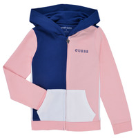 Clothing Girl Sweaters Guess K1RQ00-KA6R0-F672 White / Pink