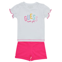 Clothing Girl Sets & Outfits Guess A1GG07-K6YW1-TWHT Multicolour