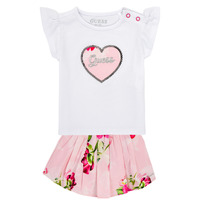 Clothing Girl Sets & Outfits Guess A1GG10-K6YW1-TWHT Multicolour