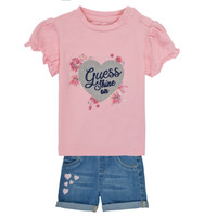 Clothing Girl Sets & Outfits Guess A1RG09-K6YW0-G600 Multicolour
