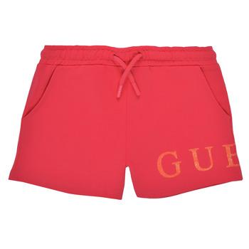 Clothing Girl Shorts / Bermudas Guess K1GD08-KAN00-C448 Pink