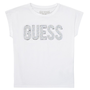 Clothing Girl Short-sleeved t-shirts Guess K1RI07-K6YW1-TWHT White