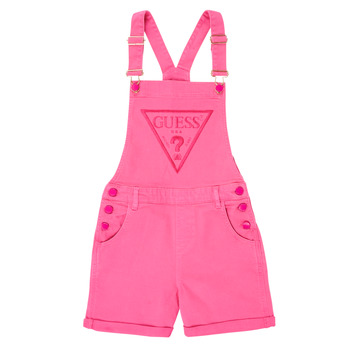 Clothing Girl Jumpsuits / Dungarees Guess J1GK12-WB5Z0-JLPK Pink