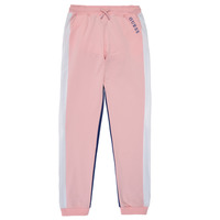 Clothing Girl Tracksuit bottoms Guess J1RQ04-KA6R0-G600 Pink / Marine