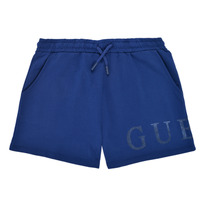 Clothing Girl Shorts / Bermudas Guess J1GD00-KAN00-PSBL Marine