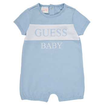 Clothing Boy Jumpsuits / Dungarees Guess ARNOLD Blue