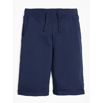 Clothing Boy Shorts / Bermudas Guess L93Q25-K5WK0-C765 Marine