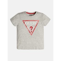 Clothing Boy Short-sleeved t-shirts Guess L73I55-K5M20-M90 Grey