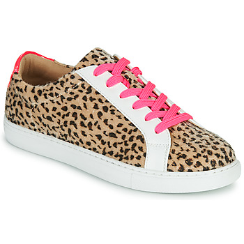 Shoes Women Low top trainers Vanessa Wu  White / Leopard