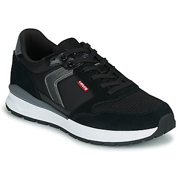 Shoes Men Low top trainers Levi's OATS Black