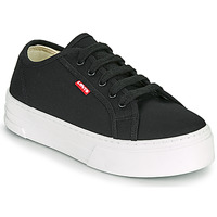 Shoes Women Low top trainers Levi's TIJUANA Black