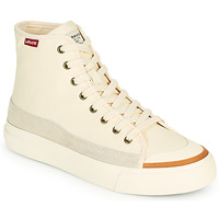 Shoes Women Hi top trainers Levi's SQUARE HIGH S White