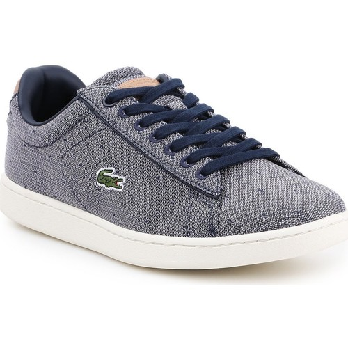Shoes Women Low top trainers Lacoste Carnaby Evo 218 3 SPW 7-35SPW0018B98 navy , white