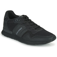 Shoes Men Low top trainers Jack & Jones JFW STELLAR PU MESH Black