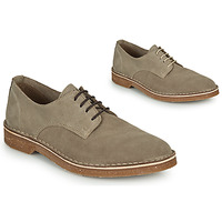 Shoes Men Derby Shoes Selected RIGA SUEDE DERBY Sable