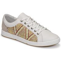 Shoes Women Low top trainers Pataugas JOHANA F2E Ecru / Kaki