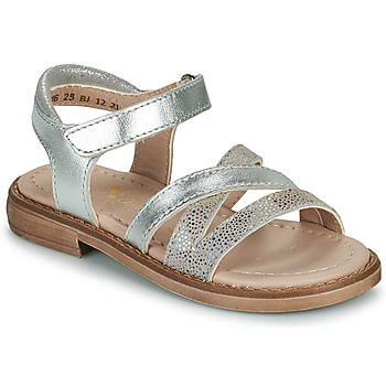 Shoes Girl Sandals Aster TESSIA Silver