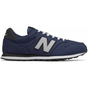 Shoes Men Low top trainers New Balance 500 Grey, Navy blue