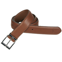 Clothes accessories Men Belts Polo Ralph Lauren S BAR DRS BT-CASUAL-SMOOTH LEATHER Brown