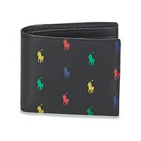 Bags Men Wallets Polo Ralph Lauren MULTI PP BF WALLET Black