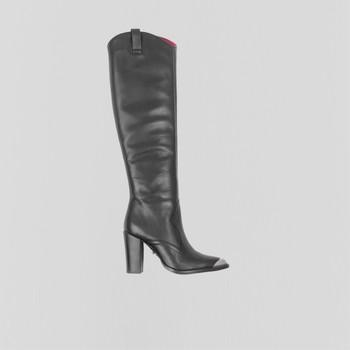Shoes Women High boots Bronx Bottes femme  New-Americana noir