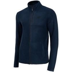 Clothing Men Sweaters 4F PLM003 Navy blue