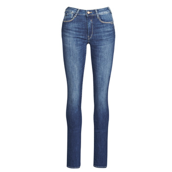 Clothing Women Straight jeans Le Temps des Cerises PULP HIGHREG Blue / Clear