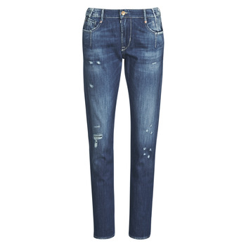 Clothing Women Boyfriend jeans Le Temps des Cerises 200/43 LIOR Blue